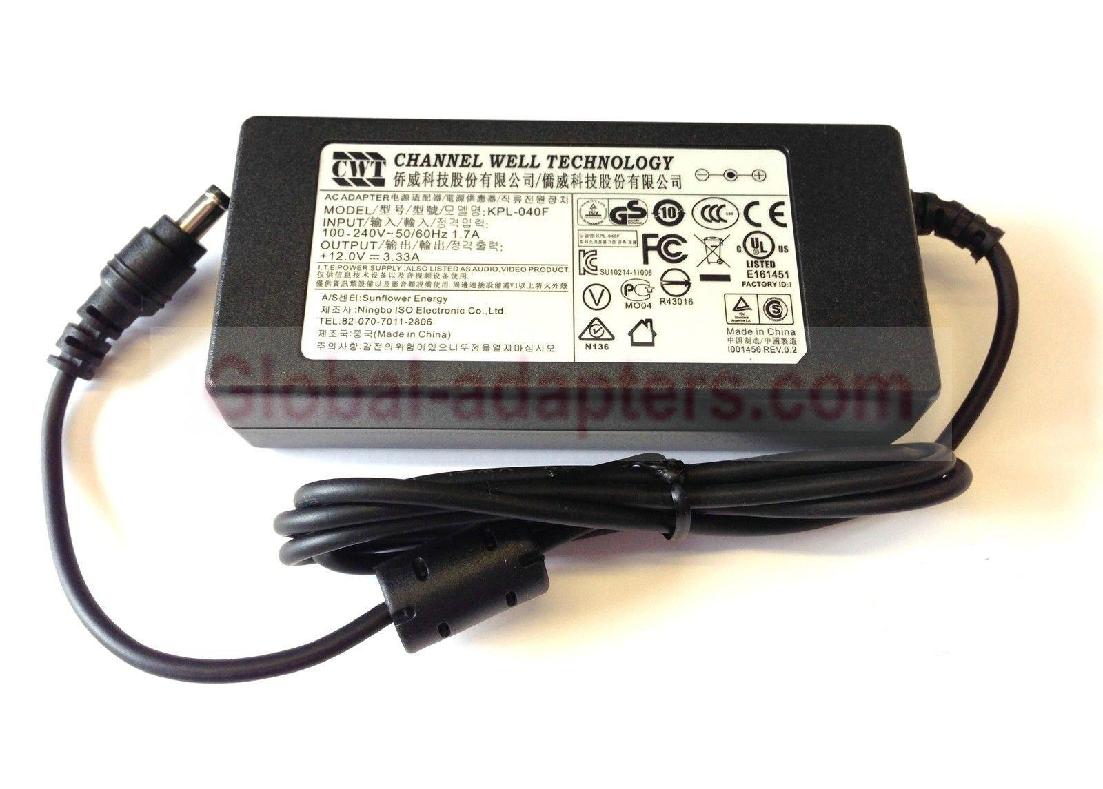 Brand New DVE 12V 2A DSA-24PFD-15 FUS 120200 AC adapter 30